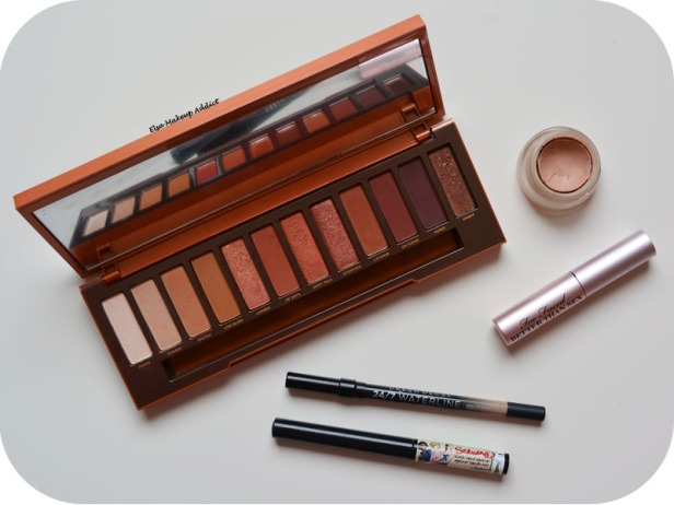 Warm Rosegold Makeup Naked Heat Urban Decay 10