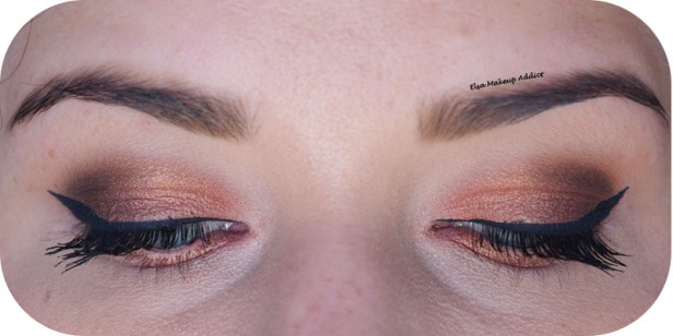 Warm Rosegold Makeup Naked Heat Urban Decay 3
