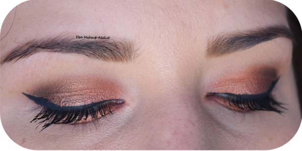 Warm Rosegold Makeup Naked Heat Urban Decay 4
