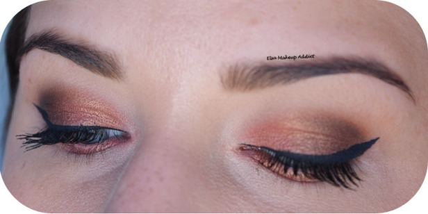 Warm Rosegold Makeup Naked Heat Urban Decay 5