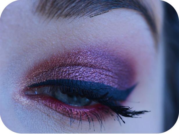 Makeup Cranberry Smokey Eye Jaclyn Hill Morphe 1