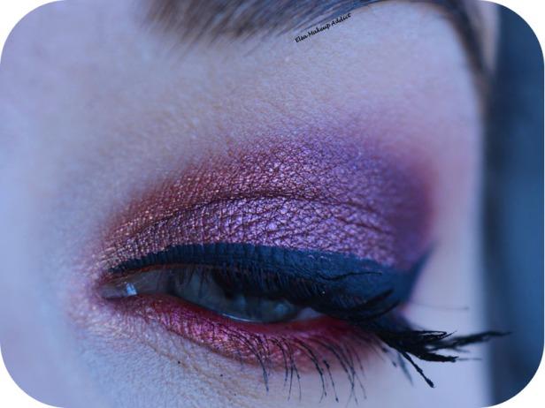 Makeup Cranberry Smokey Eye Jaclyn Hill Morphe 2