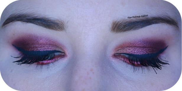 Makeup Cranberry Smokey Eye Jaclyn Hill Morphe 3