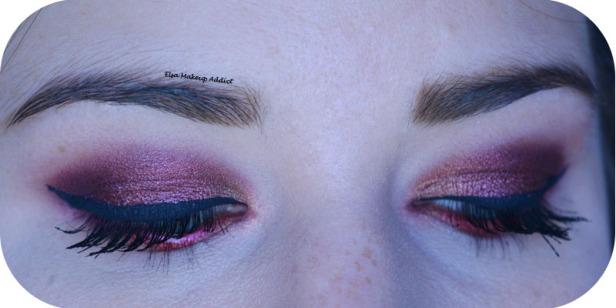 Makeup Cranberry Smokey Eye Jaclyn Hill Morphe 5