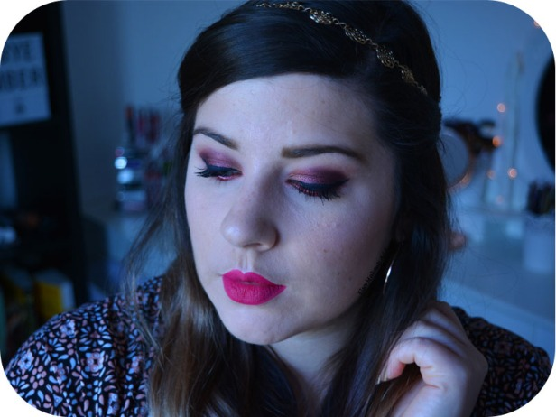 Makeup Cranberry Smokey Eye Jaclyn Hill Morphe 6