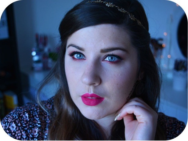 Makeup Cranberry Smokey Eye Jaclyn Hill Morphe 7