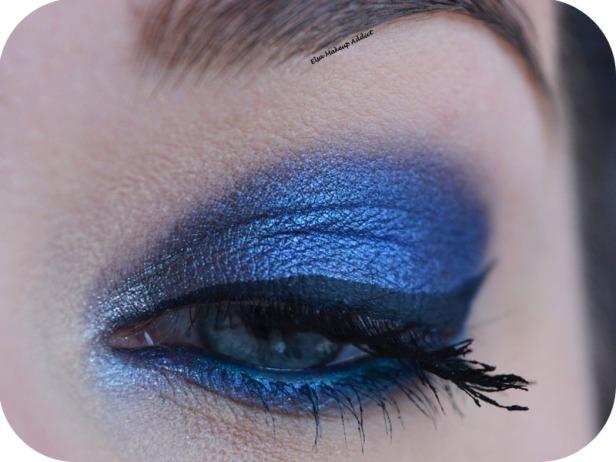 Deep Blue Makeup Kat von D Saint + Sinner 1