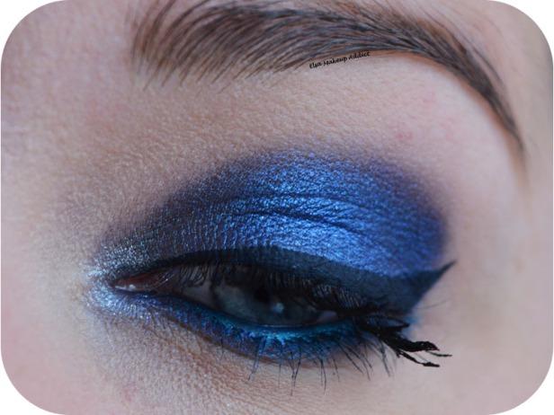 Deep Blue Makeup Kat von D Saint + Sinner 2