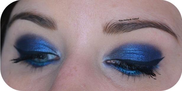 Deep Blue Makeup Kat von D Saint + Sinner 4
