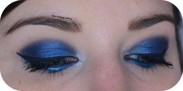 Deep Blue Makeup Kat von D Saint + Sinner 5