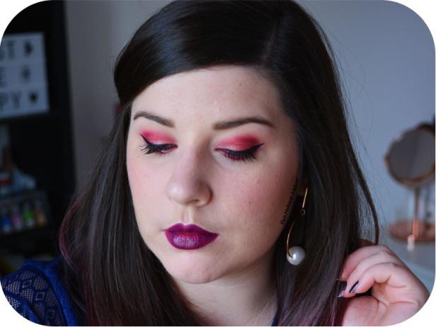 Makeup Fuchsia Mauve Obsessions Palette Huda Beauty 6