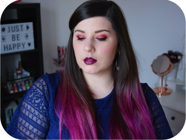 Makeup Fuchsia Mauve Obsessions Palette Huda Beauty 7