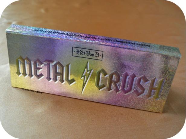 Palette Metal Crush Kat von D 7