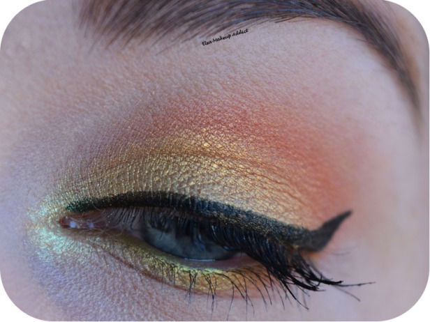 Gold Makeup Life's a Festval Too Faced 1
