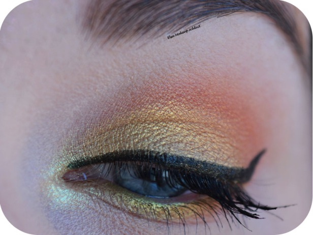 Gold Makeup Life's a Festval Too Faced 2