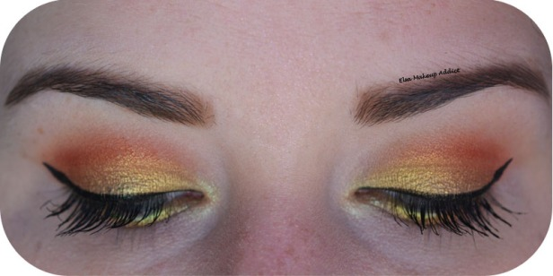 Gold Makeup Life's a Festval Too Faced 3