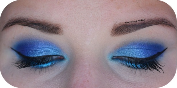 Blue Electric Makeup Huda Beauty 3