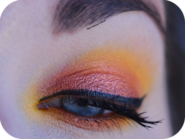 Makeup Jaune Orangé Electric Gemstone Obsessions Huda Beauty 1