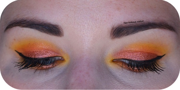 Makeup Jaune Orangé Electric Gemstone Obsessions Huda Beauty 3