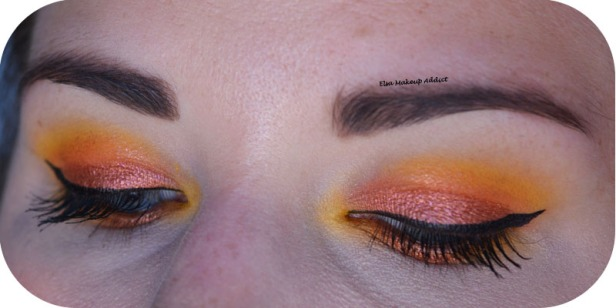 Makeup Jaune Orangé Electric Gemstone Obsessions Huda Beauty 4